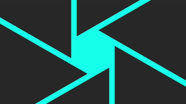diyafram geçişler - vektör animasyon - fotoğraf teması stok videoları ve detay görüntü çekimi