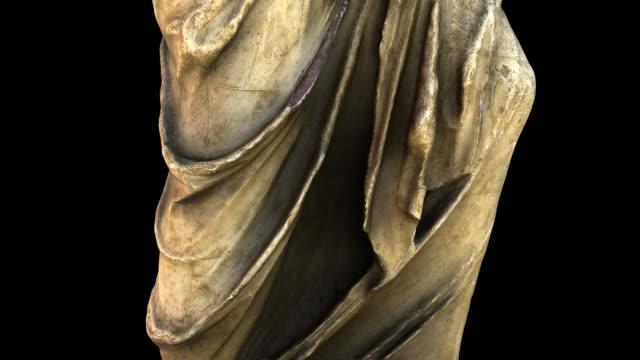 米洛的阿芙羅狄米 - 從底部到頂部旋轉 - 石材 個影片檔及 b 捲影像