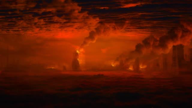 Apocalyptic landscape - still camera. video