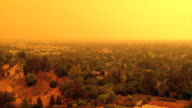 istock Apocalyptic orange sky over the San Francisco Bay Area on 09.09.2020 due to wildfires in California and Oregon 1271753901