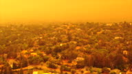 istock Apocalyptic orange sky over the San Francisco Bay Area on 09.09.2020 due to wildfires in California and Oregon 1271753919