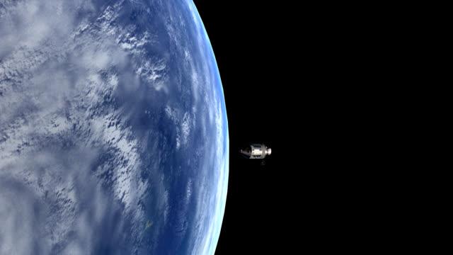 Apollo 11 Orbiter HD 1080 video