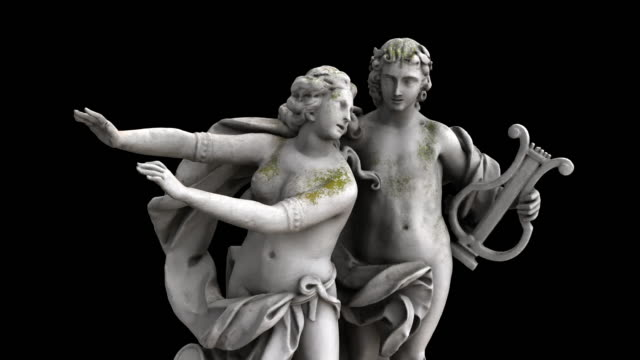 Apollo and Daphne - rotation video