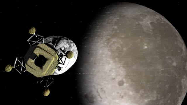 Apollo Approaches the Moon video