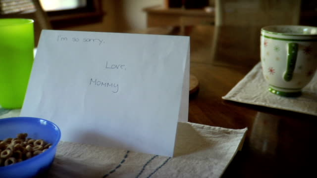 Apology Note from Mom video