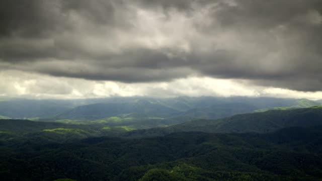 Appalachian Mountain Storm video