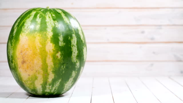 appearance and cutting watermelon Cutting watermelon - stop motion animation watermelon stock videos & royalty-free footage