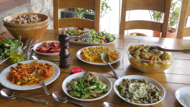 Appetizer of Turkish Cuisine video