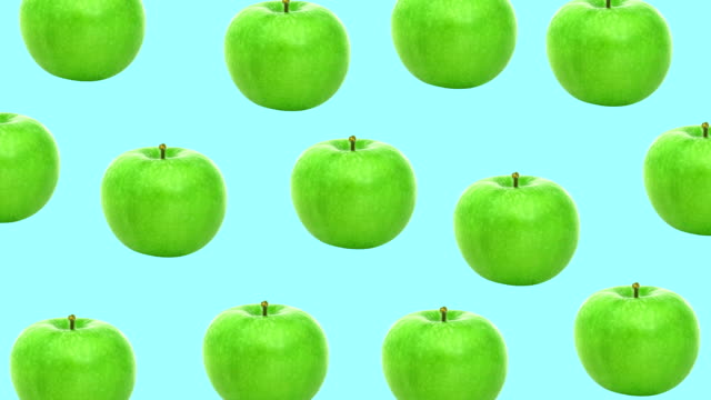 apple minimalna animacja projektowania ruchu - jabłko filmów i materiałów b-roll