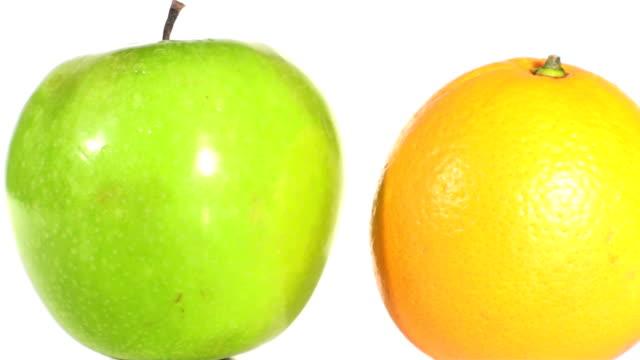 Apples And Oranges Seamless Loop V3 - HD video