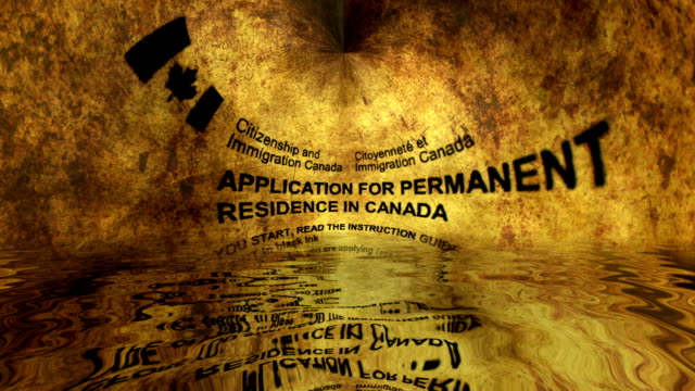 Application for permanent residence in Canada video