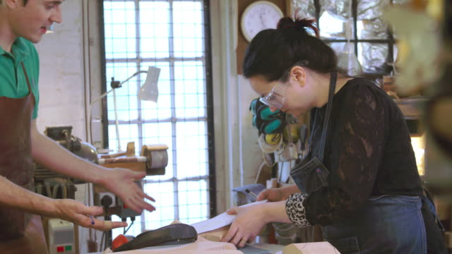 Apprentice In Bespoke Shoemakers Drawing Template For Last video