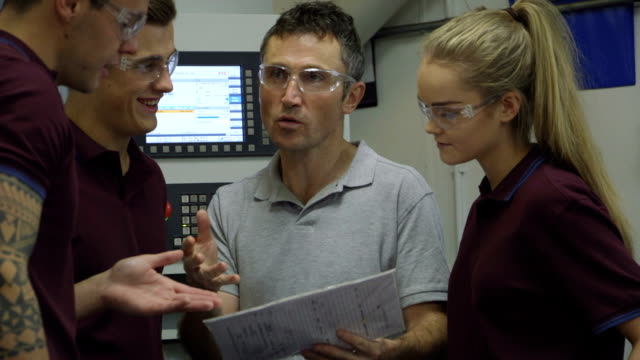 Apprentices in the Workplace video