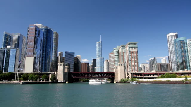 Approaching Chicago from Water video