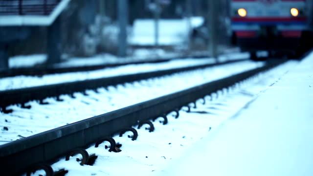 Approaching train video