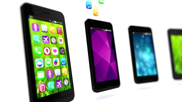 Apps fill smart phones. Loop. video