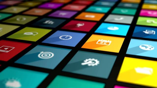 Deslizante de aplicaciones - vídeo