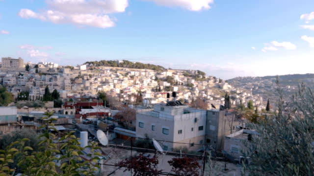 Arabian part of Jerusalem - Stock Video
