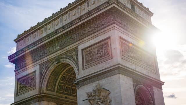 Arc de Triomphe de l'Etoile in Paris video