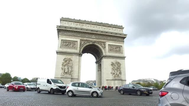 Arc de Triomphe in Paris video