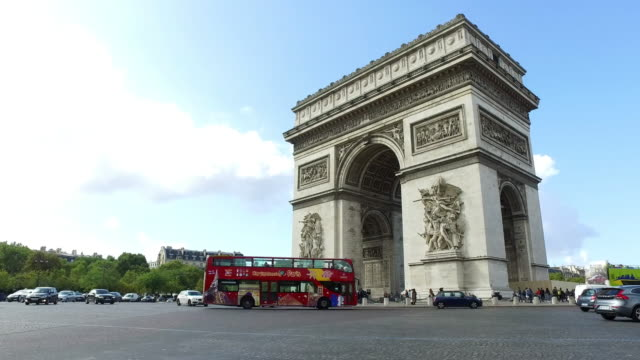 Arc de Triomphe in Paris video