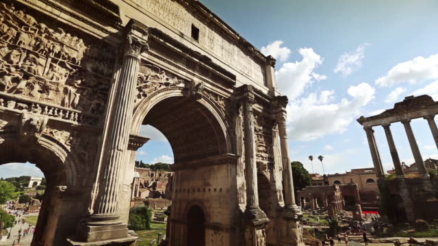 Arch of Septimius Severus video