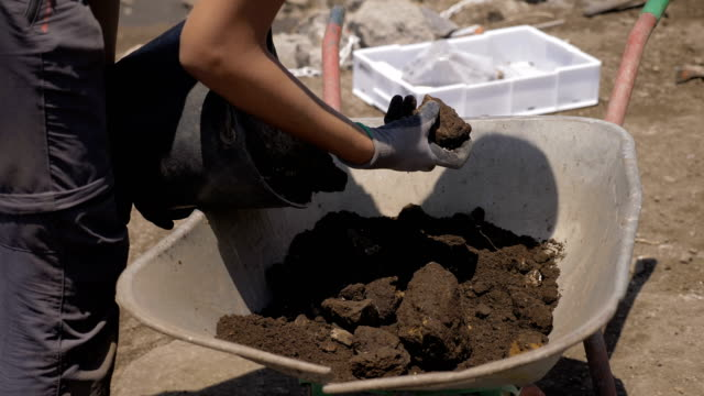 archaeological excavations, findings of remains. History, objects, archeology archaeological excavations, findings of remains. History, objects, archeology archaeology stock videos & royalty-free footage