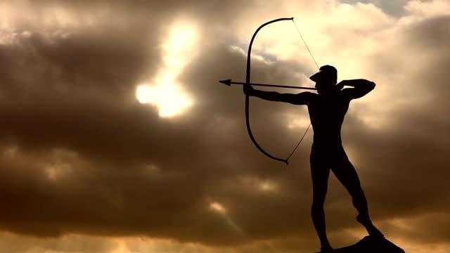 Archer Statue, Time Lapse video
