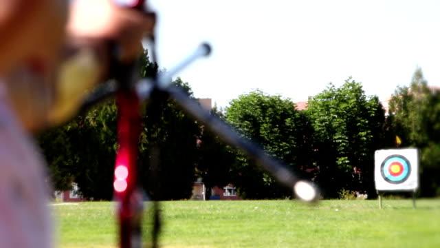 vidéos et rushes de pratique du tir à l'arc - tir à l'arc