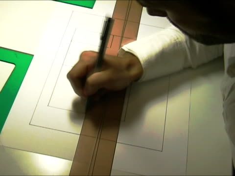 Architect at work video