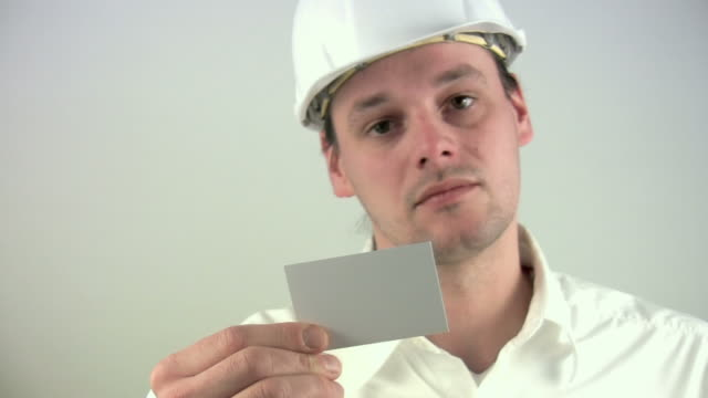 "architect ""receiving business card"" - business card stock videos & royalty-free footage"