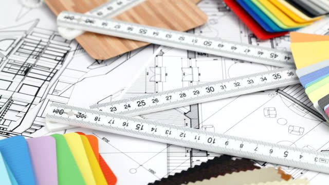 architectural materials & drawings video