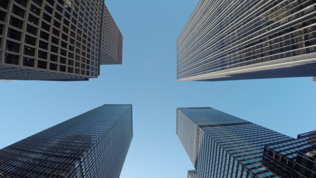 Architecture and Streets of Manhattan. Traffic and High-Rise of the Mayor City in the USA. video