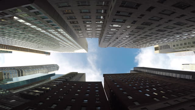 Architecture and Streets of Manhattan. Traffic and High-Rise of the Mayor City in the USA. New York's City Life and Big Buildings. free stock without watermark stock videos & royalty-free footage