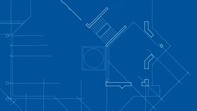 architecture blueprint plan abstract architecture background: house plan blueprint stock videos & royalty-free footage