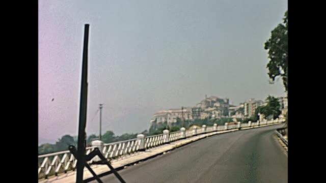 モンレアーレの町のアーカイブ都市景観 - モンレアーレ点の映像素材/bロール