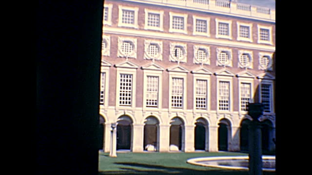 Archival cloister of Hampton Court