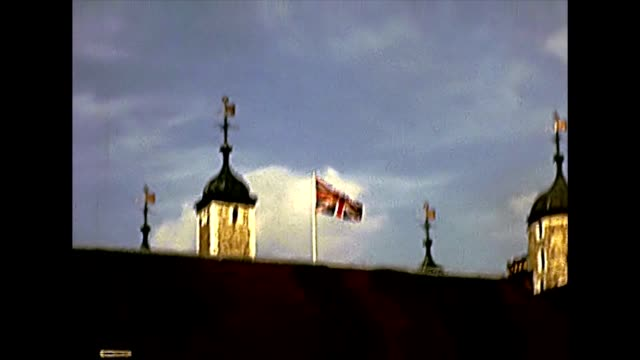 Archival Tower of London fortress