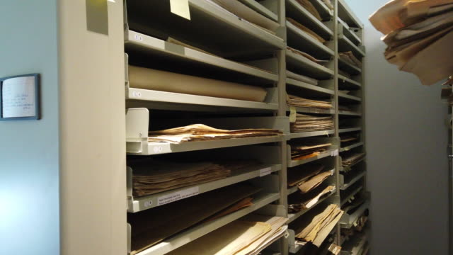 archive filing room