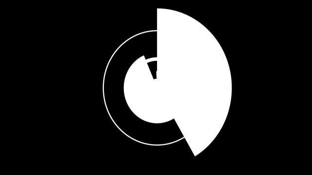 bågar och cirklar 4 - platt bildbanksvideor och videomaterial från bakom kulisserna