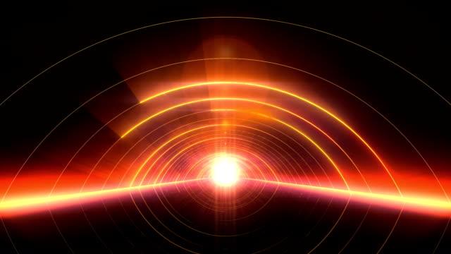 vj arcs of light gate - art deco architecture stock videos & royalty-free footage