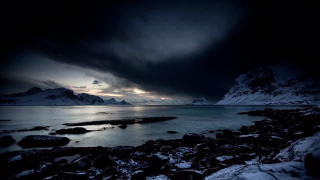 upływ czasu: polarny krajobraz - antarktyda filmów i materiałów b-roll