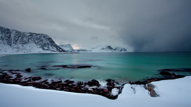 TIME LAPSE: Arctic Storm Approaching video