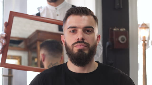 Are you satisfied with your haircut?