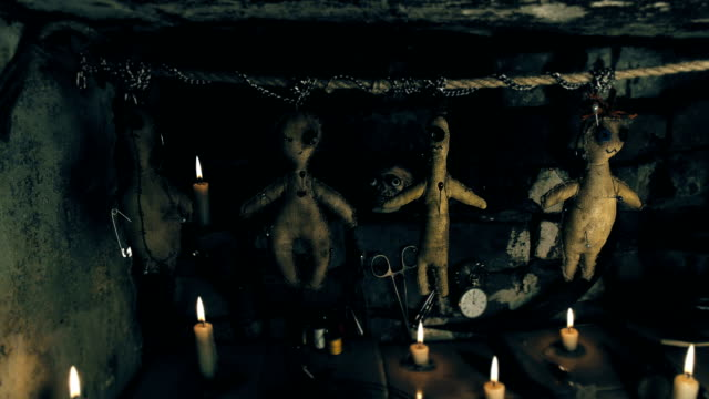 area ritual with the voodoo doll video