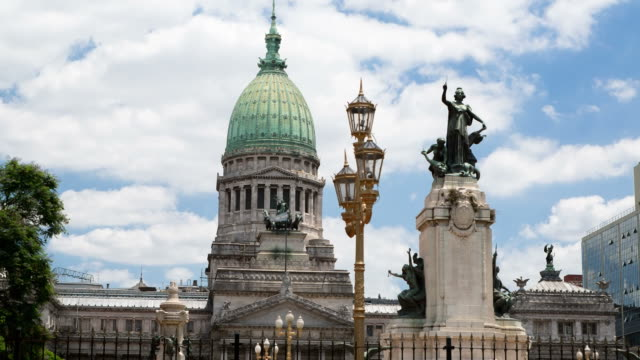 Argentina Buenos Aires Palacio Del Congreso video