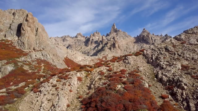 Argentina Cerro Catedral in fall - vídeo