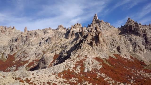 Argentina Cerro Catedral in fall – film