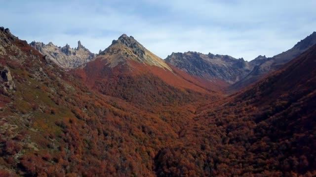 Argentina Cerro Catedral in fall video