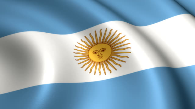 Argentina Flag Loopable video